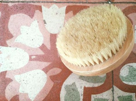 cepillado en seco