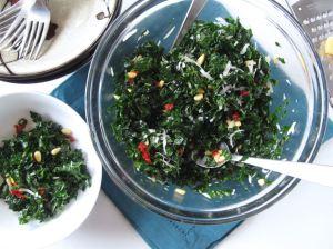 Ensalada Toscana de Kale