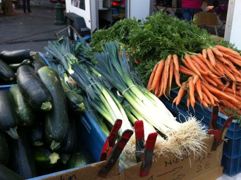 Calabacín, puerro y zanahoria. Tres alimentos que mejoran el transito intestinal.
