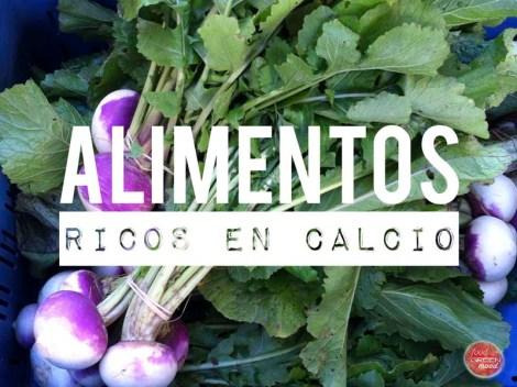 Especial el calcio y nuestra salud - Alimentos naturales ricos en calcio ...